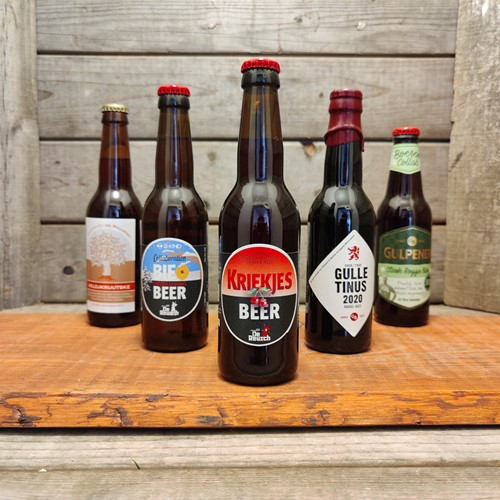 Vul je eigen Sixpack met bier van zover je kunt kijken!
